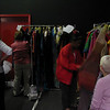 2. Dressers checking out the garments