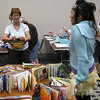 11. Class with Traci Bautista. We made books--it was great fun and quite messy.