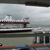 4. Here is the other ferry docking as we head across the channel