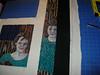 Pin Black strip on side of art work.