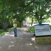 Glen at Washington on the Brazos Park. This is the birthplace of Texas Independence.