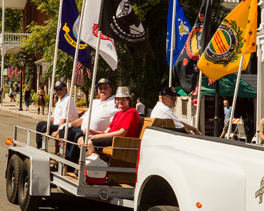 Members of Vietnam Veterans of America Chapter 535