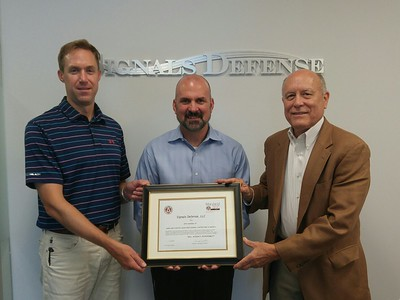 Welcome New Members Signal Defense