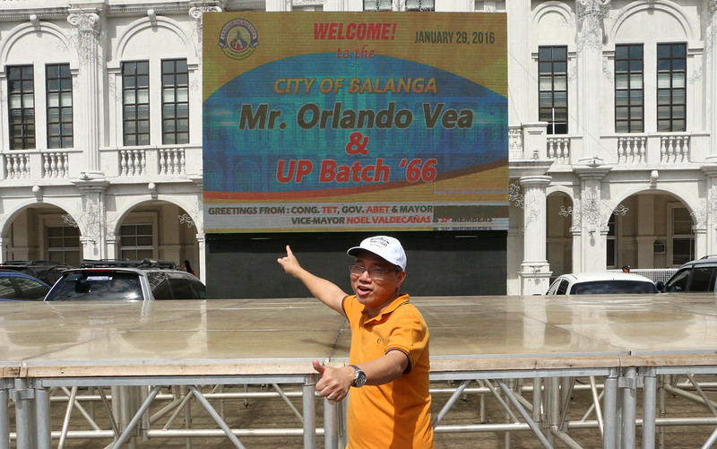 Welcome by the City of Balanga to UP High Class '66