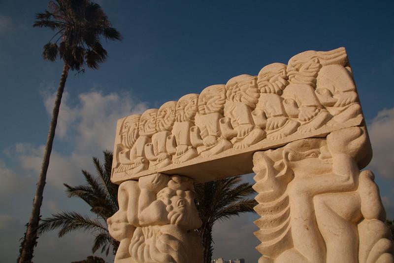 Jaffa monument
