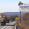 The welcome to Leominster sign on Route 2. SENTINEL & ENTERPRISE/JOHN LOVE