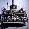 Picture of the Ferry Ellis Island