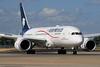 AeroMexico Boeing 787-8 Dreamliner XA-AMR (msn 36844) LHR. Image: 928445.