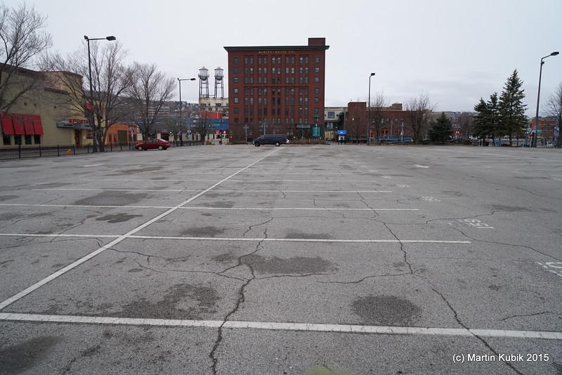 No problem finding a parking spot.