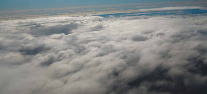 From a window in a plane