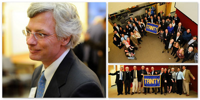 Reunion of Trinity High School, NYC Alumni in the Boston Area hosted at my office.  Our new Headmaster joined us from NYC.  Mike Ritter took the photos and I made this collage