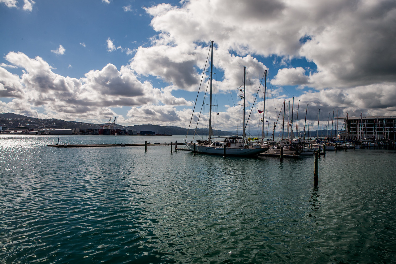The Wellington waterfront, New Zealand