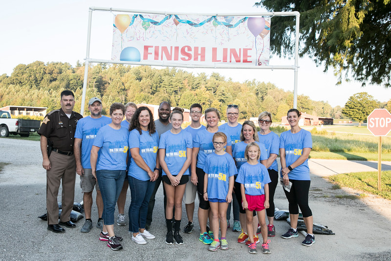 On Saturday, Sept. 15, 2018, Saint Meinrad hosted the On the Hill 5K. The race included a pancake breakfast provided by the local Knights of Columbus and all proceeds went to Catholic Charities out of Tell City, IN.