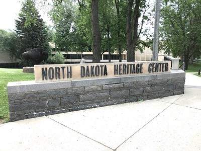 I had just enough time to stop at the North Dakota Heritage Center. It's located next to the capitol building.