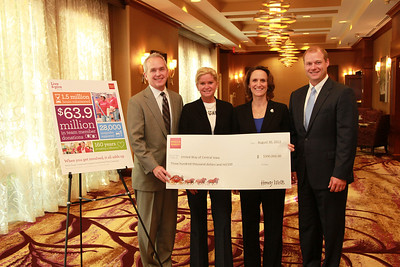 United Way Check Presentation 8/30/12