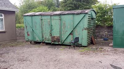 B7xxxxx 12t Vent Van Ply, Behind Bishton Village Hall, Bishton, Newport   15/06/14