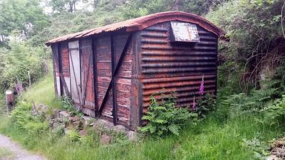 Unknown 12t Vent Van Plank, Cuckoo Street, Pontycymer, Bridgend   15/06/14