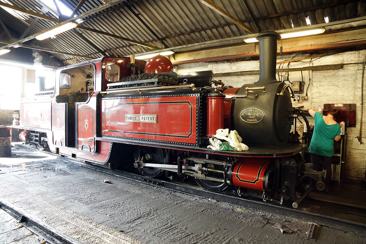 ST No12 'Fairlies Patent' Frco 0-4-4-0T 02,07,2015
