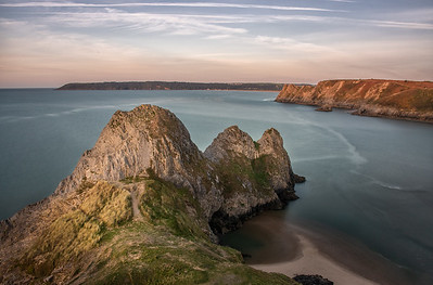 Three Cliffs Bay, Gower