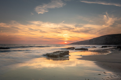 Dunraven Bay sunset, South Wales
