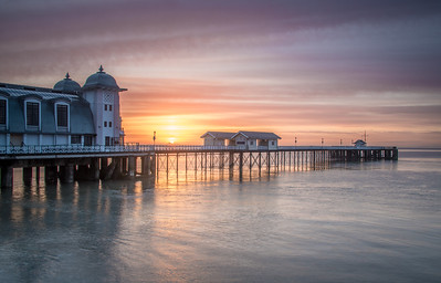 Penarth Pier sunrise