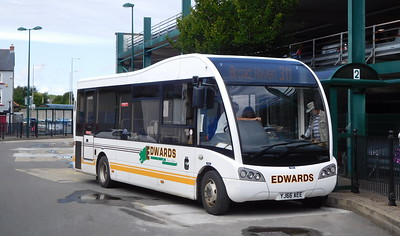 YJ66AEE - Haverfordwest (bus station)