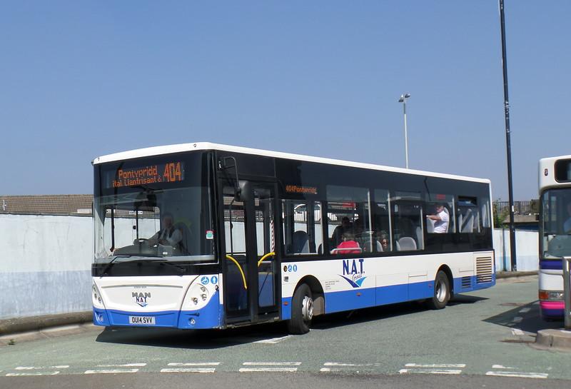 OU14SVV - Bridgend (bus station)