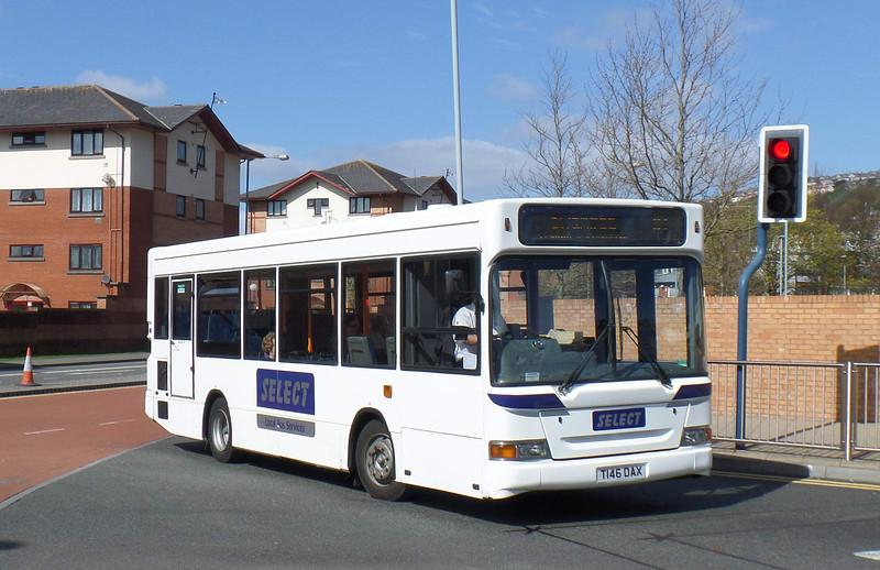 T146DAX - Swansea (bus station) - 14.4.14