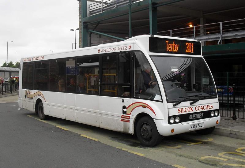 MX07BAO - Haverfordwest (bus station) - 1.8.11