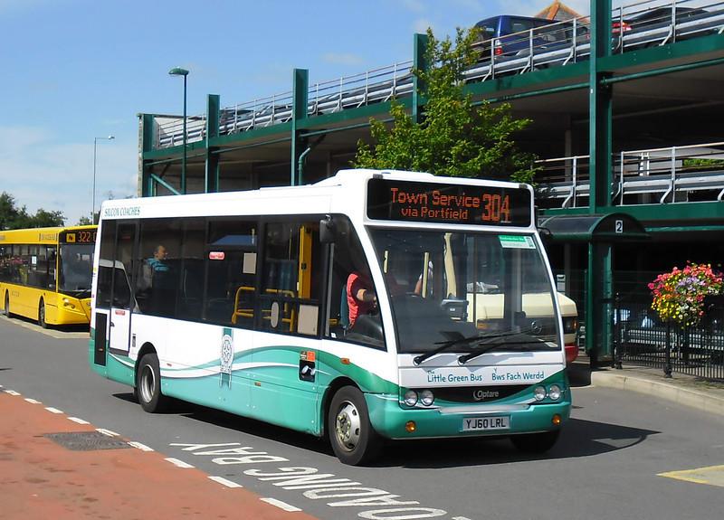 YJ60LRL - Haverfordwest (bus station) - 5.8.11