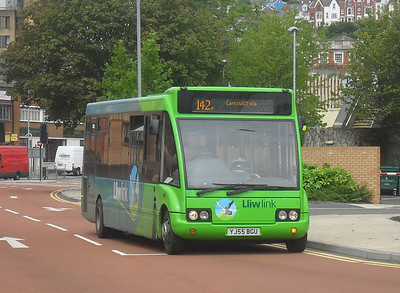 YJ55BGU - Swansea (The Quadrant) - 2.8.11  Previously operated by Veolia on Gower Explorer routes Previously 53913 with First Cymru