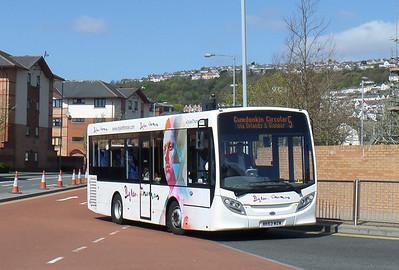 MK63WZW - Swansea (bus station) - 14.4.14