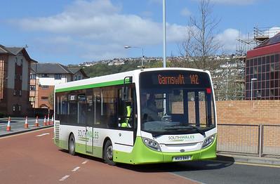 MX13BAE - Swansea (bus station) - 14.4.14
