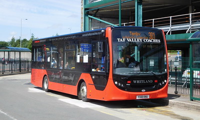 YX18KNU - Haverfordwest (bus station)