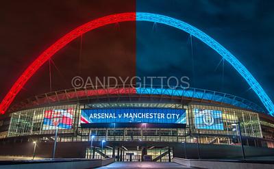Arsenal v Manchester City FA Cup Semi Final 2017