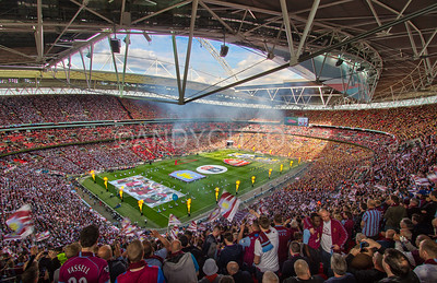 The 2015 FA Cup Final at Wembley Stadium