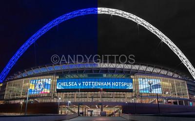 Chelsea v Tottenham Hotspur FA Cup Semi Final 2017