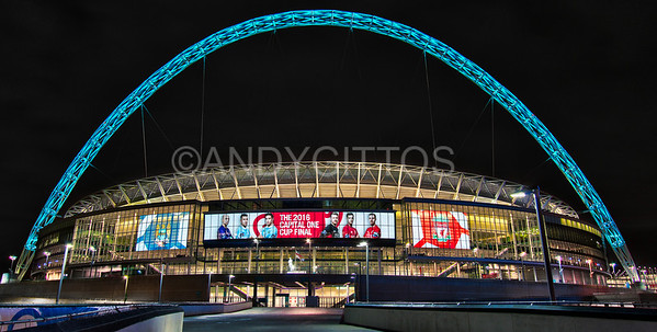 League Cup Final 2016, Wembley Stadium