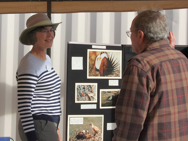 Ellen at the Yakima Audubon booth