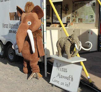 The Wenas Mammoth traveling education trailer