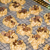 Eberhardt traditional holiday peanut butter cookies.