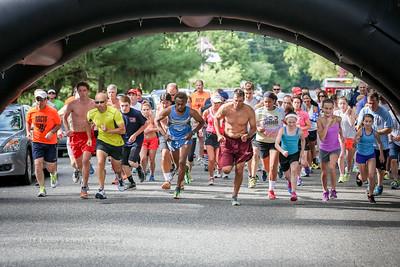 Start of the Annual 5k Fun Run