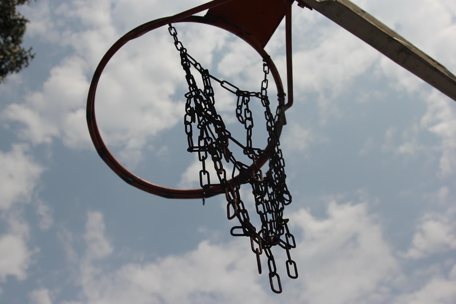 Hoops at the Wenonah Elementary School