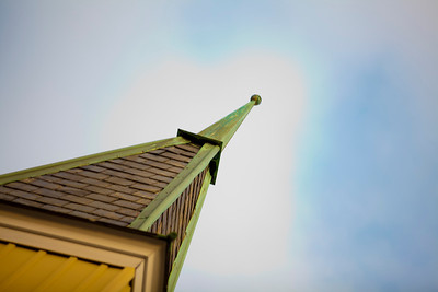 Winter Steeple - Wenonah Methodist Church