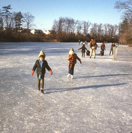 Skating on the Wenonah Lake