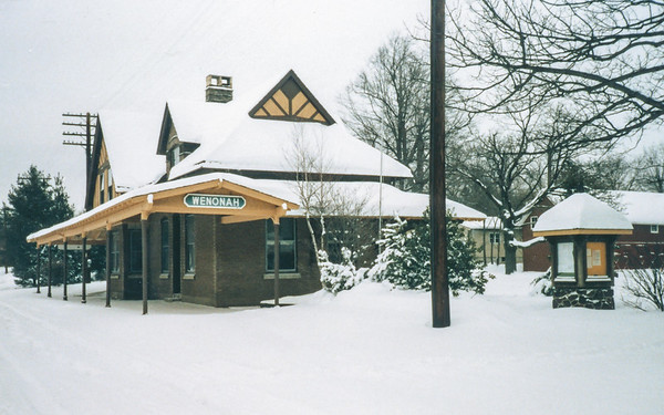 Wenonah Train Station 1987