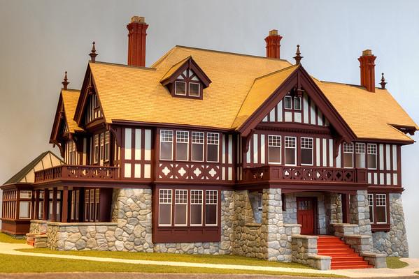 Biggerstaff-Wilson House Model - Victoria, Vancouver Island, British Columbia, Canada