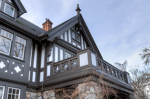 Biggerstaff-Wilson House - designed by Samuel Maclure - Victoria, Vancouver Island, British Columbia, Canada