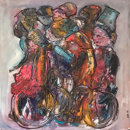 "Wheels  €1900 winner ""all about arts"""