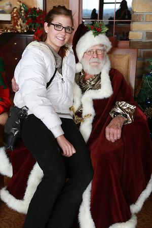 Santa Visits Edgewater - 12/7/2013